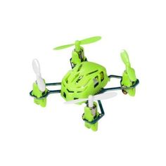 Hubsan Q4 H111 Nano Mini 4-Channel RC Quadcopter Flying Drone with 2.4GHz Radio System, Green