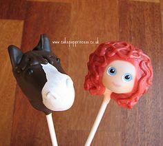Disney Brave cake pops