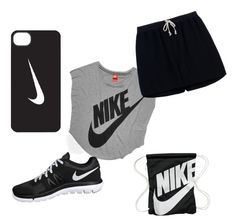"""""""Nike rocks"""" by arielacano ❤ liked on Polyvore featuring NIKE and Rick Owens"""