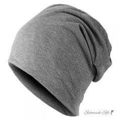 Mütze / Beanie Unisex dunkel Grau