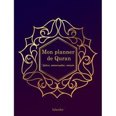 Mon planner de Quran - Outil de lecture et d'apprentissage du Coran en français.