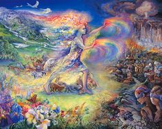 mystical fantasy paintings kb Wall Josephine No More