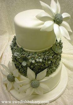 Floral Wedding Cake | Flickr - Photo Sharing!