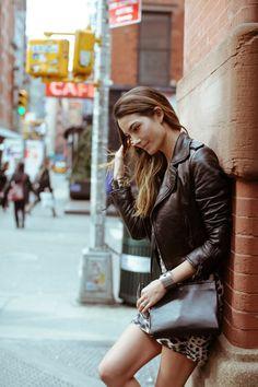 Spring in the city - Lily Aldridge