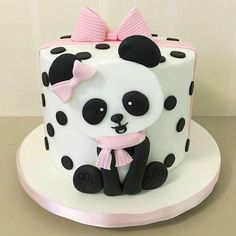 Panda Birthday Cake Happy Birthday Cake Child First Birthday Party Panda Style Cake. Panda Birthday Cake Panda Holding Birthday Cake Vector Clip Art Illustration With. Panda Birthday Cake, Baby Birthday Cakes, Birthday Parties, Girl Cakes, Baby Cakes, Cupcake Cakes, Bolo Panda, Rodjendanske Torte, Panda Cakes