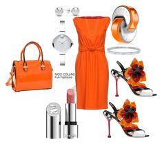 Fun Fashions by niccicollins on Polyvore featuring polyvore fashion style Boutique Moschino Movado ERTH Jewelonfire Kjaer Weis Bulgari clothing
