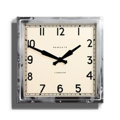 Large Quad Wall Clock with Metal Case and Glass Lens - £110.00 from Jolly Molly