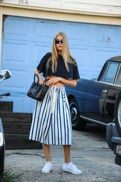 This season try running your stripes vertically, the easiest ways to slim & elongate your silhouette. www.stylestaples.com.au