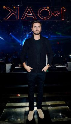 Scott Disick hosts a party in Vegas