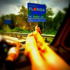 Et finalement nous avons vu apparaître le fameux Welcome to Florida!!!