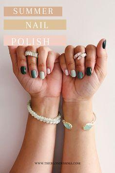 Summer Nail Polish - The Blondissima