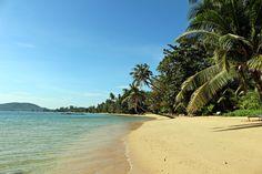 Une des plages désertes de l'île de Koh Mak en Thaïlande.
