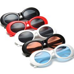 5ad613b6dd0a $4.99 AUD - Retro Clout Goggles Rapper Glasses Sunglasses Fancy Dope Oval Shades  Glasses Au #