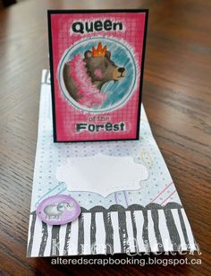 Altered Scrapbooking: Pop Stand Love Notes