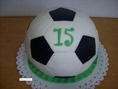 Торт футбольний мяч викройка