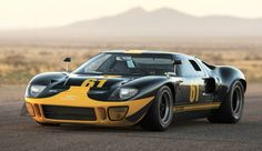 A 1966 Ford GT40 Mk I is the highest-valued car in the collection