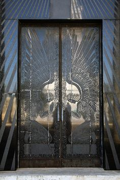 Juan Pedro Baró mausoleum doors, Catalina Lasa, Cementerio Colón: René Lalique's white domed mausoleum is patterned in engraved glass roses covering small, square windows – an immortal imprint of the eponymous Catalina Lasa rose, created by Juan Pedro Baró to honour his beautiful wife. Lalique's huge black granite doors are crafted with angels and roses.
