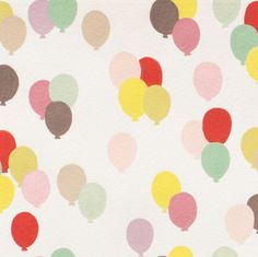 Balloon Parade by Alexander Henry  1/2 Yard   by Owlanddrum, $5.50