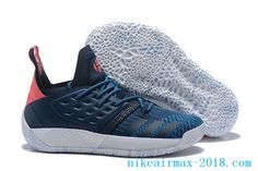 96afc91bc9d adidas Harden Vol. 2 Deep Blue and Pink adidas Harden Shoes For Sale
