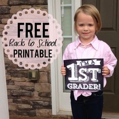 FREE FIRST DAY OF SCHOOL DOWNLOAD /// (designs by nicolina)