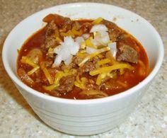 Weight Watchers chili recipe