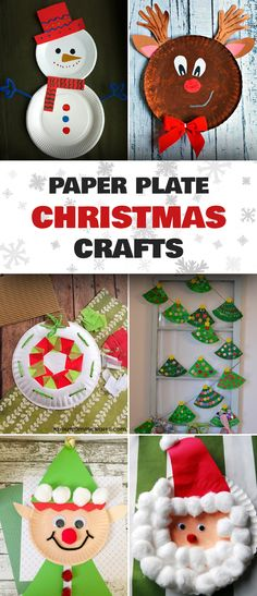20 easy and fun paper plate crafts to make with the kids this holiday season.