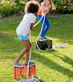 5 juegos infantiles caseros ¡al aire libre!