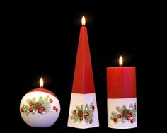 Paraffin Wax Pillar Candle Christmas Candles & Tea Lights for sale Christmas Candles, Christmas Decorations, Beautiful Candles, Paraffin Wax, Handmade Candles, Christmas Morning, Handmade Christmas, Pillar Candles, Birthday Candles