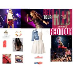 """Rock Out to Taylor Swift in Keds"" by panorina on Polyvore"