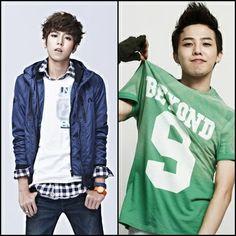 Lee Hyun Woo and G-Dragon like twin in korea