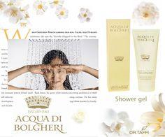 Acqua di Bolgheri gel shower - on www.drtaffi.com