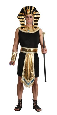 Men's Fancy Dress Costumes- From Superhero, Pirate, historical, decades and beyond. Our Fancy Dress range includes laugh-out-loud funny costumes sure to get a rise, and best of all our Men's Costumes are at very cheap prices. Pharaoh Costume, King Costume, Egyptian Costume, Costume Dress, Adult Costumes, Halloween Costumes, Men's Costumes, Halloween 2014, Straight Jacket Costume