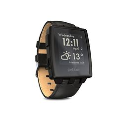 Pebble Steel Smart Watch for iPhone and Android Devices (Black Matte) Pebble http://www.amazon.com/dp/B00IVX0XGO/ref=cm_sw_r_pi_dp_qY0Bub0FJ2D0T