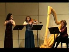 Fire Pink Trio- Debussy Sonata mvt. 3