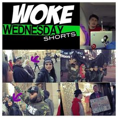 check out the new WOKE WEDNESDAY SHORT #FreestyleOffTheDome on YouTube! #YouTubeSnowThaProduct #WakeYaGameup