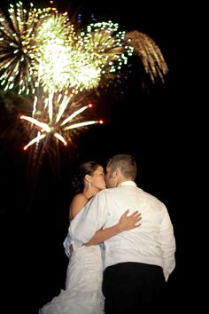 Fireworks from Mad Bomber Productions @ Sam & Rusty's 7.30.11 wedding. Wedding planning & design by Shi Shi Events Wedding Planning & Design.  Photography by Dan & April O'Keefe of Z Media.