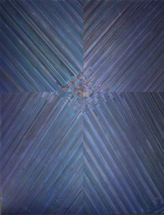 "Lisa Bartleson, ""Artifact No. 1 Violet (Night)"", Mixed Media On Canvas, 84 x 64 inches"