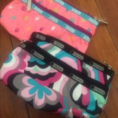 Lesportsac cosmetic bag bundle! Nwt Nwt and in perfect condition. Awesome bundle!   If you want to purchase only one, leave me a comment LeSportsac Bags Cosmetic Bags & Cases