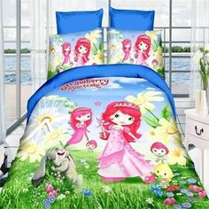 masha and bear/princess girls bedding set twin single size of duvet/doona cover bed sheet pillow case bed linen set