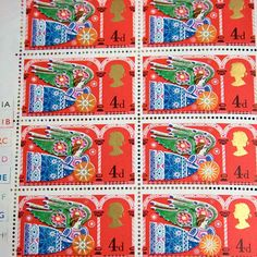 1969 British Stamps Commemorative Christmas by 3rdshelffromthetop, $7.00