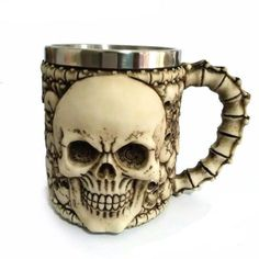 3D Skull Mugs and Coffee Cup