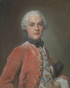 Henry Dawkins, circa 1750, Maurice-Quentin de La Tour
