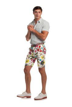 ARMOND SHORT - TrinaTurk Mr Turk, Trina Turk, Patterned Shorts, Men, Fashion, Moda, Printed Shorts, Fashion Styles, Guys