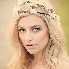 flower crown wedding - Google Search