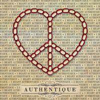 Authentique Love button #AuthentiquePaper