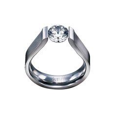 RG091R B.Tiff Round Solitaire Ring