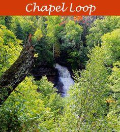 Chapel Loop Hike at Pictured Rocks National Lakeshore in the Michigan Upper Peninsula