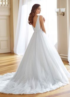 Courtesy of Mon Cheri Wedding Dresses of Martin Thornburg Collection; Wedding dress idea.