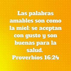 Proberbios 16:24