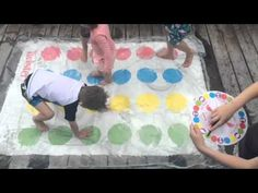Water Blob Twister! Twister just got a whole lot cooler! How AWESOME is this!!